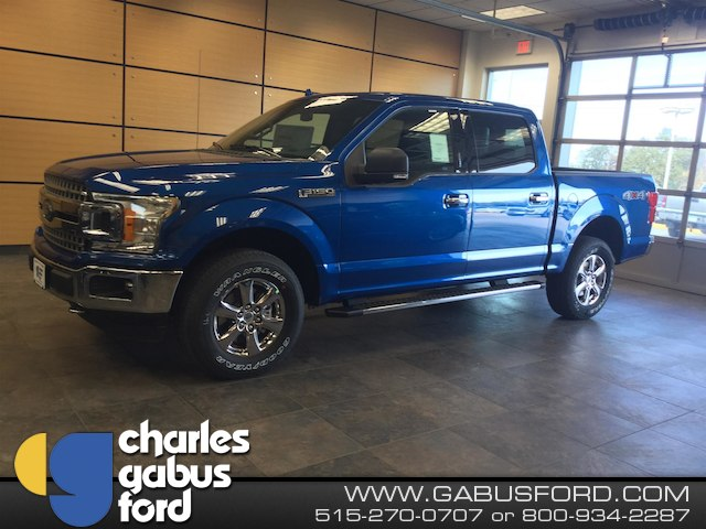 2018 F-150 Crew Cab 4x4, Pickup #181197 - photo 1