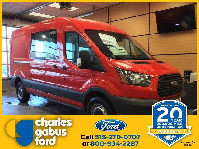 2018 Transit 250 Med Roof 4x2,  Empty Cargo Van #181671 - photo 1