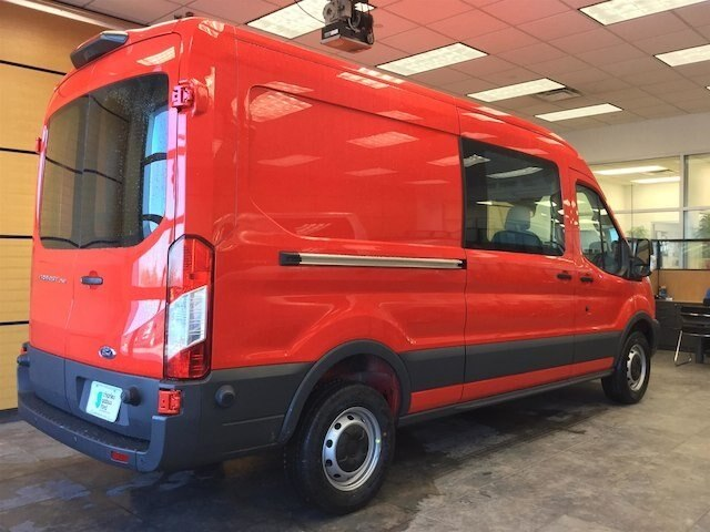 2018 Transit 250 Med Roof 4x2,  Empty Cargo Van #181671 - photo 6
