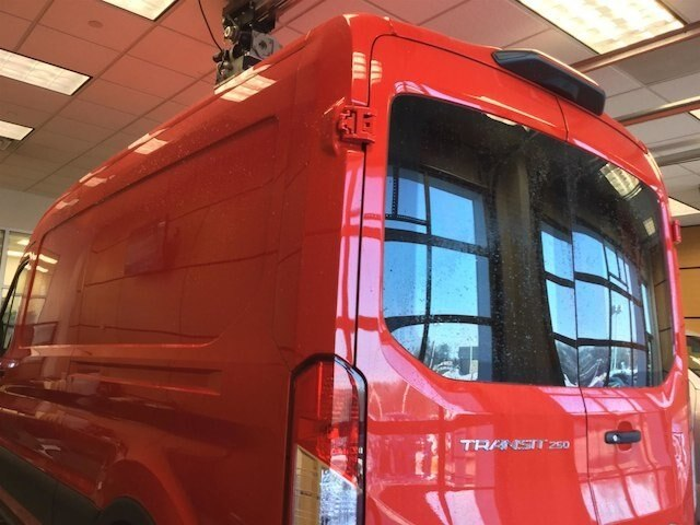 2018 Transit 250 Med Roof 4x2,  Empty Cargo Van #181671 - photo 10