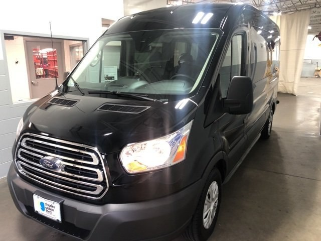 2017 Transit 350 Med Roof 4x2,  Passenger Wagon #R171626 - photo 4