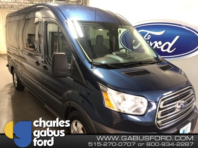 2018 Transit 350 Med Roof 4x2,  Passenger Wagon #R95832 - photo 1