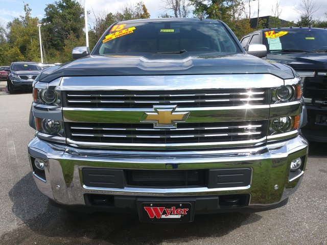 2015 Silverado 2500 Crew Cab 4x4,  Pickup #51T6789 - photo 3