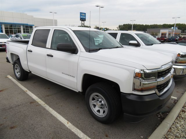 2017 Silverado 1500 Crew Cab 4x4, Pickup #D63331 - photo 8