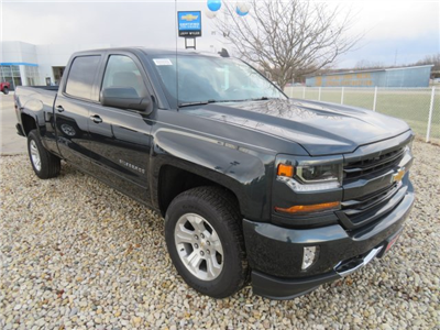 2018 Silverado 1500 Crew Cab 4x4, Pickup #D63690 - photo 4