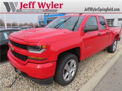 2018 Silverado 1500 Double Cab 4x4, Pickup #D63769 - photo 1