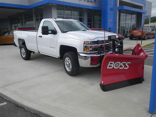 2016 Silverado 2500 Regular Cab 4x4, Pickup #D90137 - photo 5
