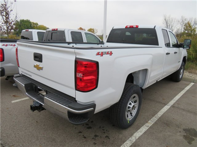 2018 Silverado 3500 Extended Cab 4x4 Pickup #D90214 - photo 5