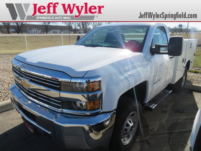 2017 Silverado 2500 Regular Cab 4x4, Service Body #D90216 - photo 1