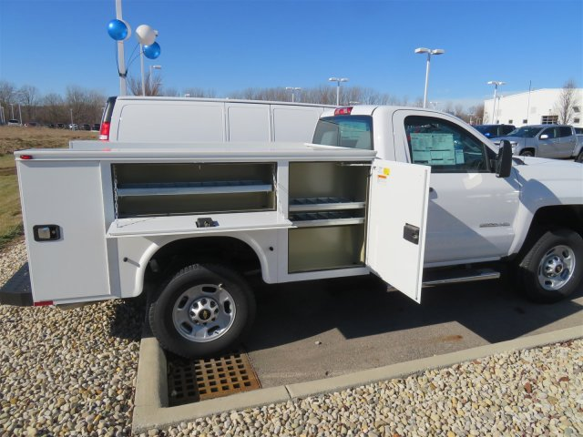 2017 Silverado 2500 Regular Cab 4x4, Service Body #D90216 - photo 14