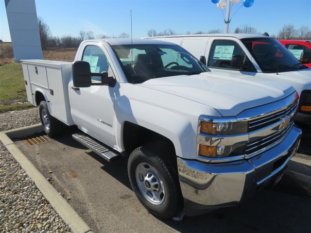 2017 Silverado 2500 Regular Cab 4x4, Service Body #D90216 - photo 4
