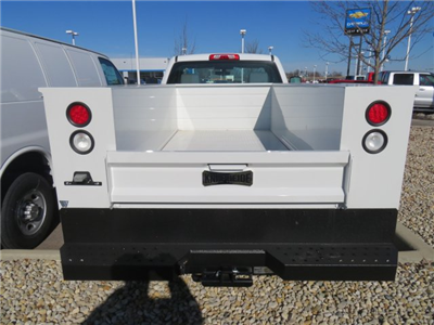 2017 Silverado 2500 Regular Cab 4x4, Service Body #D90216 - photo 6