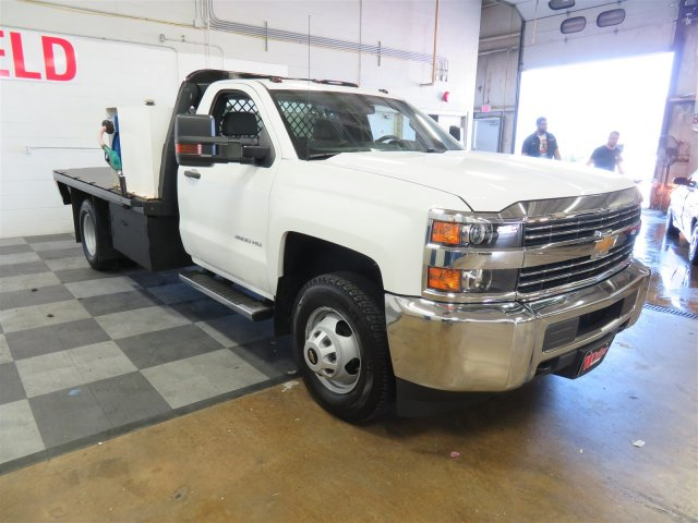 2017 Silverado 3500 Regular Cab DRW, Platform Body #DT6457 - photo 4