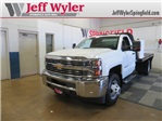 2017 Silverado 3500 Regular Cab DRW, Platform Body #DT6457 - photo 1