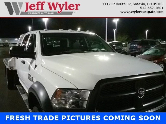 2015 Ram 4500 Crew Cab DRW 4x4 Platform Body #A25638A - photo 1