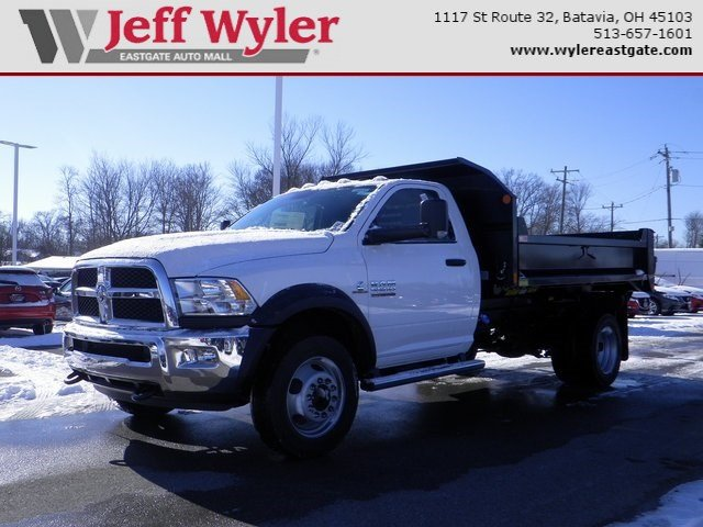 2018 Ram 5500 Regular Cab DRW 4x4, Monroe MTE-Zee Dump Dump Body #A910211 - photo 1