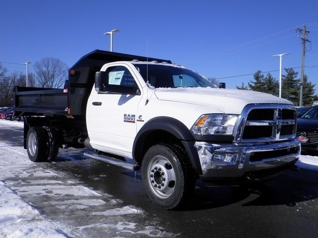 2018 Ram 5500 Regular Cab DRW 4x4, Monroe MTE-Zee Dump Dump Body #A910211 - photo 4