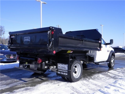 2018 Ram 5500 Regular Cab DRW 4x4, Monroe MTE-Zee Dump Dump Body #A910211 - photo 6