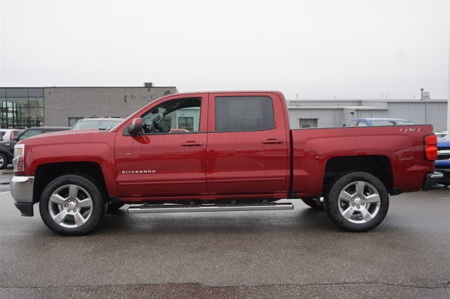 2018 Silverado 1500 Crew Cab 4x4, Pickup #A343646 - photo 3