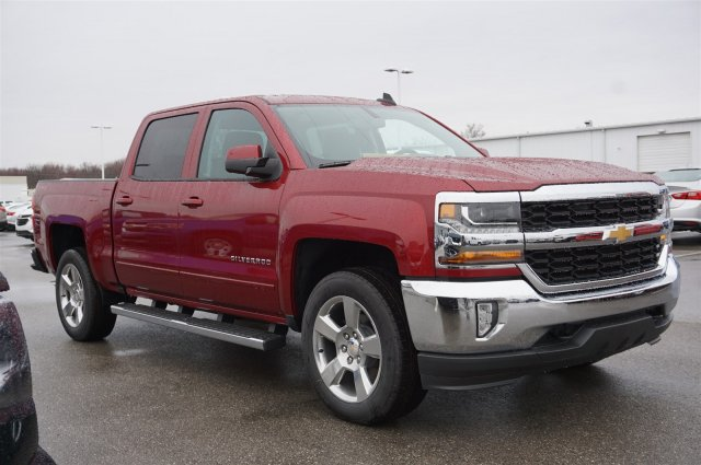 2018 Silverado 1500 Crew Cab 4x4, Pickup #A343646 - photo 7