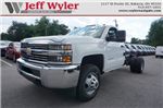 2017 Silverado 3500 Regular Cab DRW 4x4 Cab Chassis #A900146 - photo 1