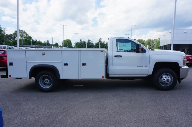 2017 Silverado 3500 Regular Cab 4x4, Service Body #A900147 - photo 6