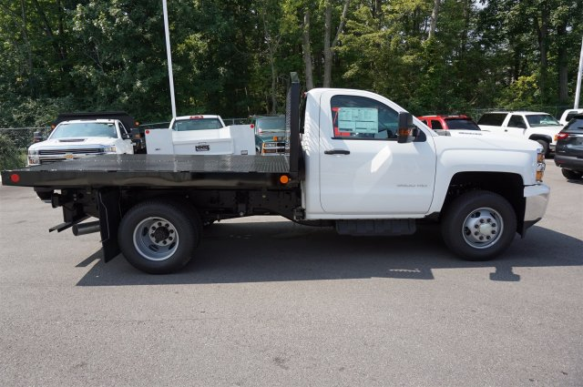 2017 Silverado 3500 Regular Cab 4x4, Monroe Platform Body #A900160 - photo 6