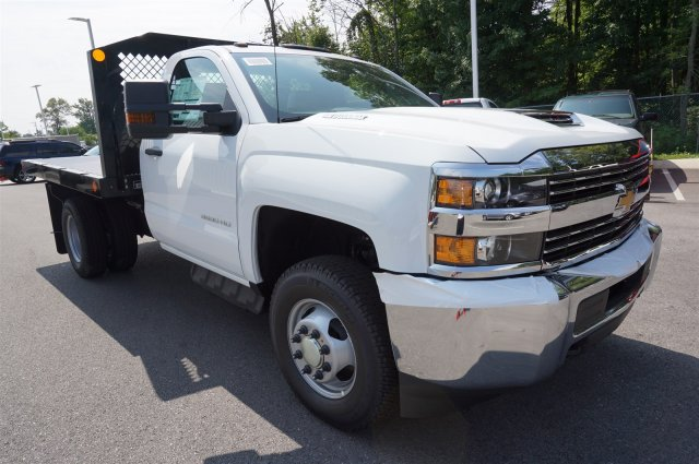 2017 Silverado 3500 Regular Cab 4x4, Monroe Platform Body #A900160 - photo 7