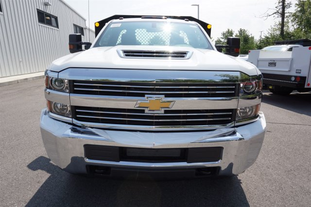 2017 Silverado 3500 Regular Cab 4x4, Monroe Platform Body #A900160 - photo 8