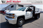 2017 Silverado 3500 Regular Cab 4x4, Monroe Platform Body #A900160 - photo 1