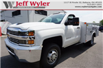 2017 Silverado 3500 Regular Cab 4x4, Reading Service Body #A900161 - photo 1