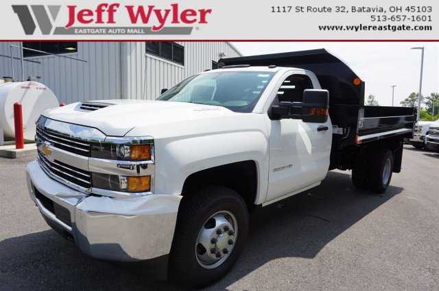 2017 Silverado 3500 Regular Cab DRW 4x4, Monroe MTE-Zee Dump Dump Body #A900162 - photo 1