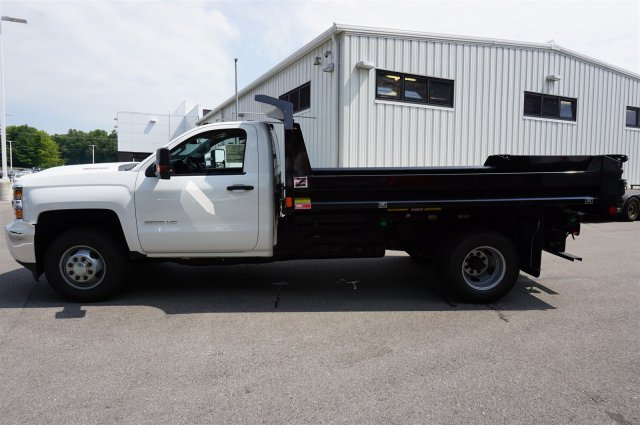 2017 Silverado 3500 Regular Cab 4x4, Dump Body #A900162 - photo 3