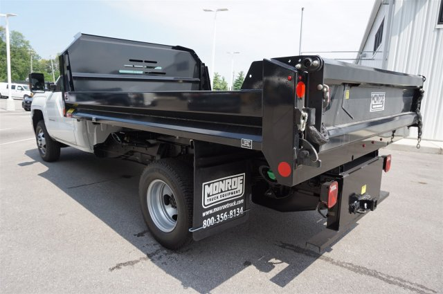 2017 Silverado 3500 Regular Cab DRW 4x4, Monroe MTE-Zee Dump Dump Body #A900162 - photo 2