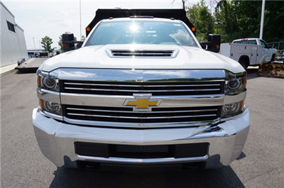 2017 Silverado 3500 Regular Cab DRW 4x4, Monroe MTE-Zee Dump Dump Body #A900162 - photo 8