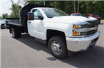2017 Silverado 3500 Regular Cab DRW 4x4, Monroe MTE-Zee Dump Dump Body #A900162 - photo 7