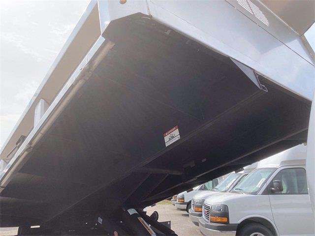 2021 Sierra 3500 Regular Cab 4x4,  Rugby Eliminator LP Stainless Steel Dump Body #2621109 - photo 7