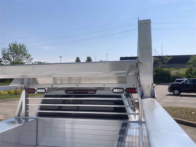 2021 Sierra 3500 Crew Cab 4x4,  Monroe Truck Equipment AL Series Platform Body Contractor Body #2621113 - photo 12
