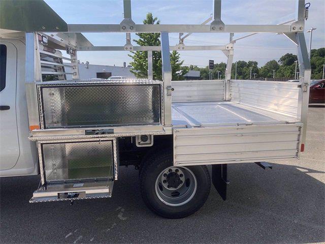 2021 Sierra 3500 Crew Cab 4x4,  Monroe Truck Equipment AL Series Platform Body Contractor Body #2621113 - photo 19