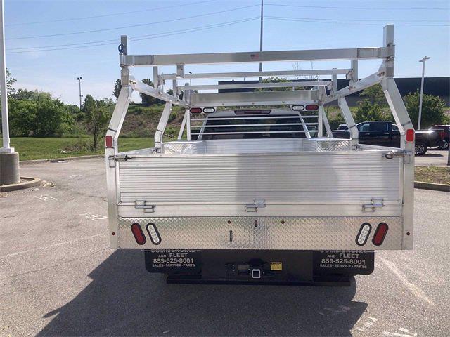 2021 Sierra 3500 Crew Cab 4x4,  Monroe Truck Equipment AL Series Platform Body Contractor Body #2621113 - photo 4