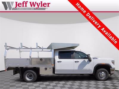 2021 Sierra 3500 Crew Cab 4x4,  Monroe Truck Equipment AL Series Platform Body Contractor Body #2621113 - photo 1