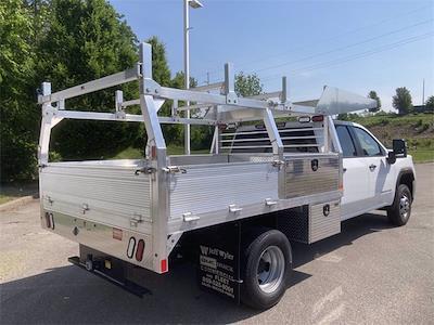 2021 Sierra 3500 Crew Cab 4x4,  Monroe Truck Equipment AL Series Platform Body Contractor Body #2621113 - photo 2