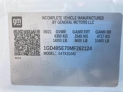 2021 Sierra 3500 Crew Cab 4x4,  Monroe Truck Equipment AL Series Platform Body Contractor Body #2621113 - photo 47