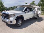 2021 Sierra 3500 Crew Cab 4x4,  Monroe Truck Equipment AL Series Platform Body Contractor Body #2621113 - photo 20