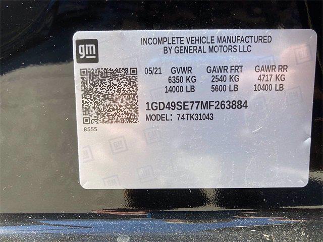2021 GMC Sierra 3500 Crew Cab 4x4, Monroe Contractor Body #2621117 - photo 45