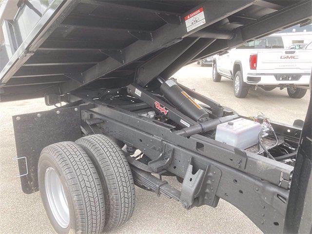 2021 Sierra 3500 Crew Cab 4x4,  Rugby Eliminator LP Steel Dump Body #2621120 - photo 14