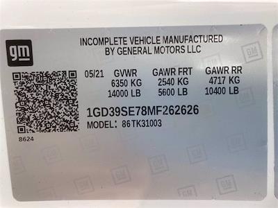 2021 Sierra 3500 Regular Cab 4x4,  Knapheide Aluminum Service Body #2621129 - photo 38