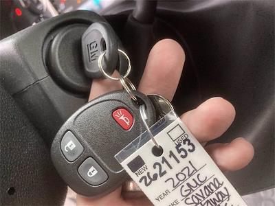 2021 Savana 3500 4x2,  Cutaway Van #2621153 - photo 41