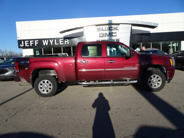 2013 Sierra 2500 Crew Cab 4x4 Pickup #X15933A - photo 3
