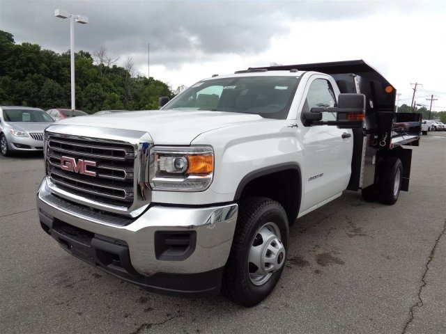 2016 Sierra 3500 Regular Cab 4x4, Monroe Dump Body #X20420 - photo 9